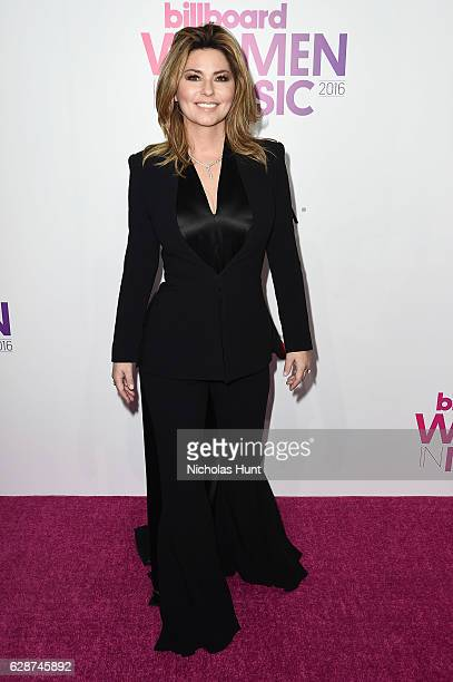 Shania Twain attends the Billboard Women in Music 2016 event on December 9 2016 in New York City