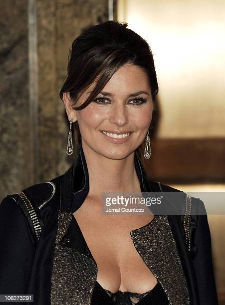 Shania Twain during 20th Century Fox's 'Walk The Line' New York Premiere Inside Arrivals at Beacon Theatre in New York City New York United States