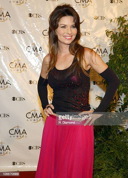 Shania Twain during 38th Annual Country Music Awards Arrivals at Grand Ole Opry House in Nashville Tennessee United States