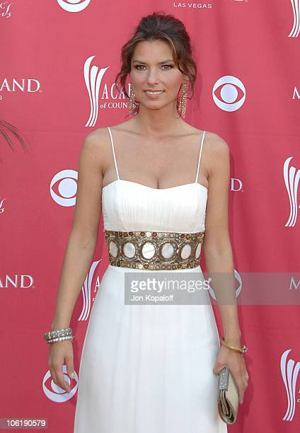 Shania Twain during 42nd Academy of Country Music Awards Arrivals at MGM Grand Hotel and Casino Resort in Las Vegas Nevada United States