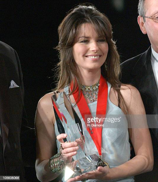 Shania Twain during 52nd Annual BMI Country Awards Show at BMI in Nashville Tennessee United States