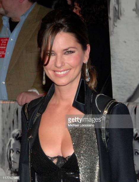 Shania Twain during Country Takes New York City Presents 'Walk The Line' Premiere at Beacon Theater in New York City New York United States