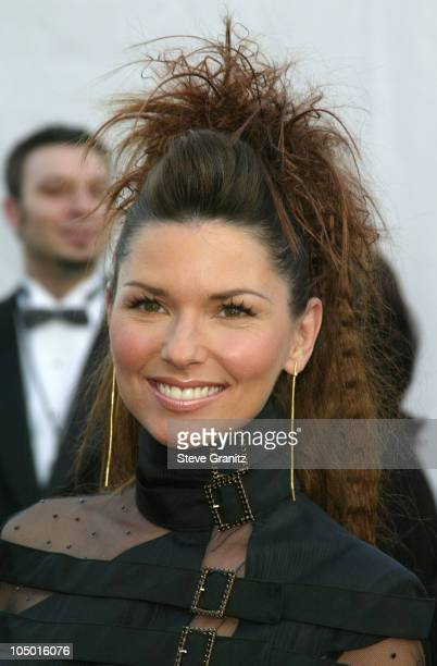 Shania Twain during The 30th Annual American Music Awards Arrivals at Shrine Auditorium in Los Angeles California United States