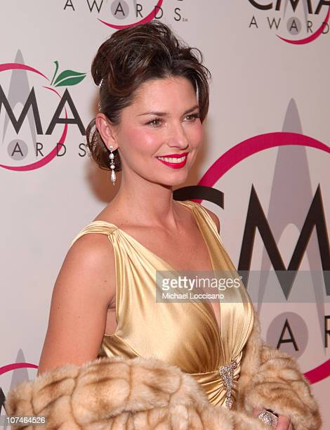 Shania Twain during The 39th Annual CMA Awards Arrivals at Madison Square Garden in New York City New York United States