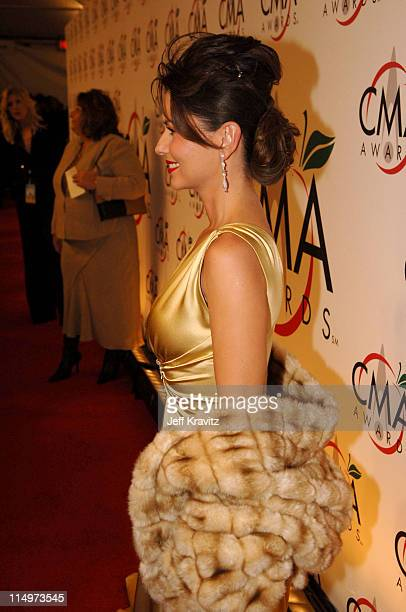 Shania Twain during The 39th Annual CMA Awards Red Carpet at Madison Square Garden in New York City New York United States