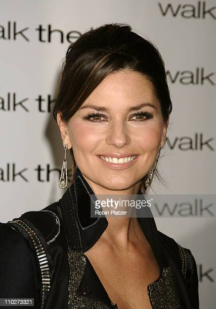 Shania Twain during 'Walk the Line' New York City Premiere Arrivals at Beacon Theatre in New York New York United States