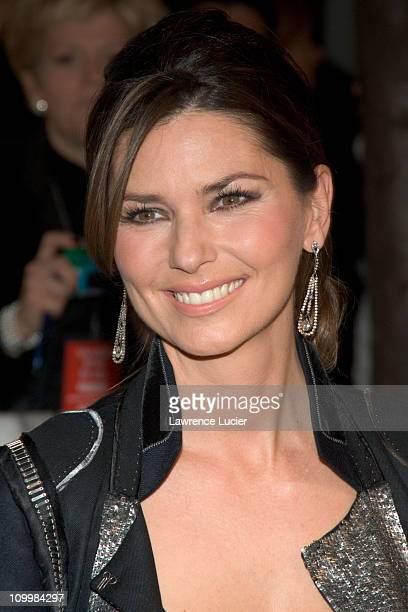 Shania Twain during Walk the Line New York City Premiere Outside Arrivals at Beacon Theater in New York City New York United States