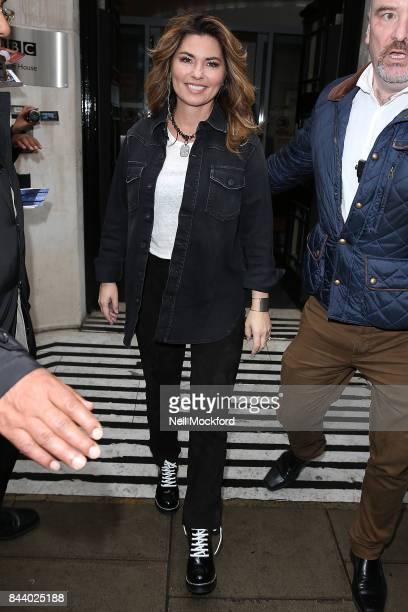 Shania Twain seen at BBC Radio 2 Studios on September 8 2017 in London England