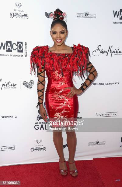 Shanica Knowles attends the Wearable Art Gala at California African American Museum on April 29 2017 in Los Angeles California