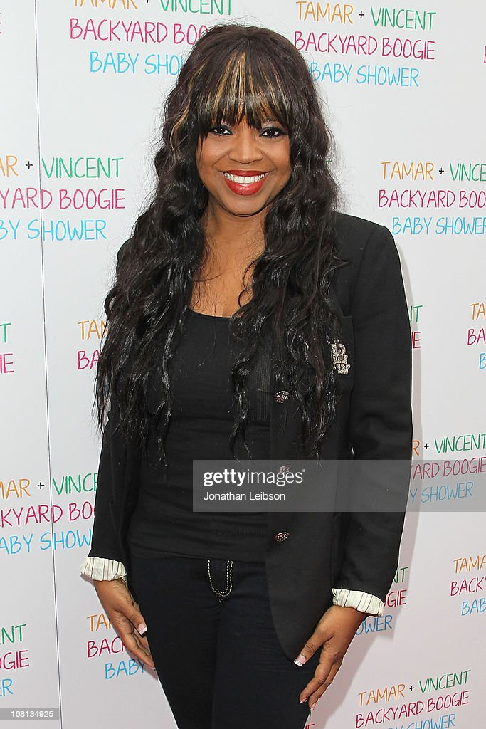 <a gi-track='captionPersonalityLinkClicked' href=/galleries/search?phrase=Shanice+-+US+Singer&family=editorial&specificpeople=846714 ng-click='$event.stopPropagation()'>Shanice</a> attends as Tamar Braxton hosts a carnival-themed baby shower with friends and family at Hotel Bel-Air on May 5, 2013 in Los Angeles, California.