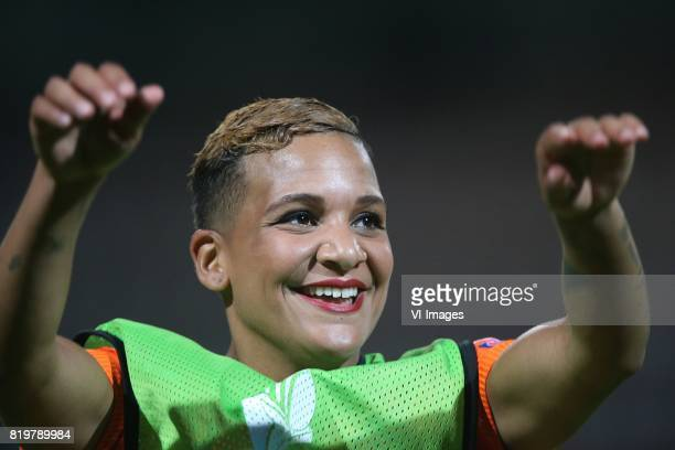 Shanice van de Sanden of Holland Women during the UEFA WEURO 2017 Group A group stage match between The Netherlands and Denmark at the Sparta stadium...