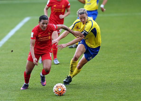 WSL 1: Doncaster Rovers Belles v Liverpool Ladies FC : News Photo