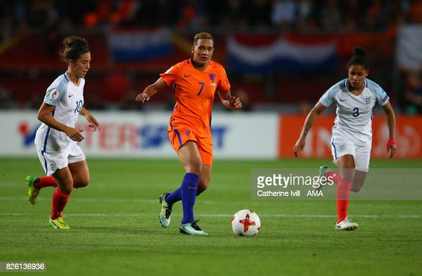 Shanice Van de Sanden of Netherlands Women during the UEFA Women's Euro 2017 semi final match between Netherlands and England at De Grolsch Veste...