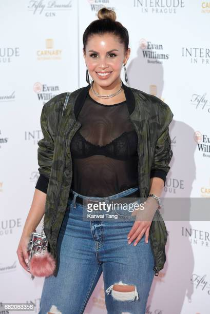 Shanie Ryan attends the World Premiere of 'Interlude In Prague' at Odeon Leicester Square on May 11 2017 in London England