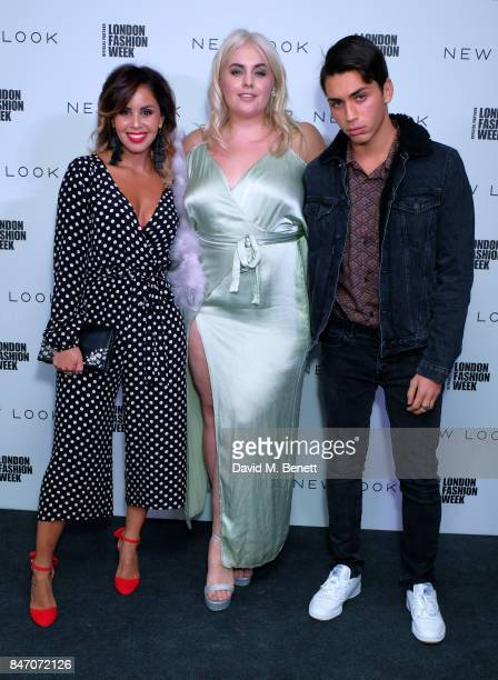 Shanie Ryan Felicity Hayward and Samuel Bensoussan attend the exclusive New Look and British Fashion Council party launching London Fashion Week...