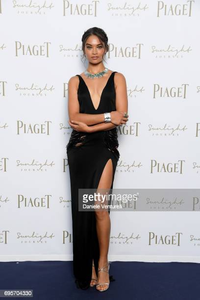 Shanina Shaik attends Piaget Sunlight Journey Collection Launch on June 13 2017 in Rome Italy