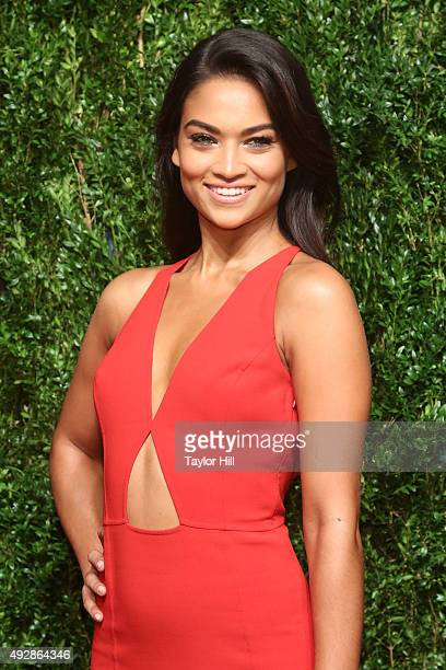 Shanina Shaik attends the 2015 God's Love WE Deliver Golden Heart Awards at Spring Studios on October 15 2015 in New York City