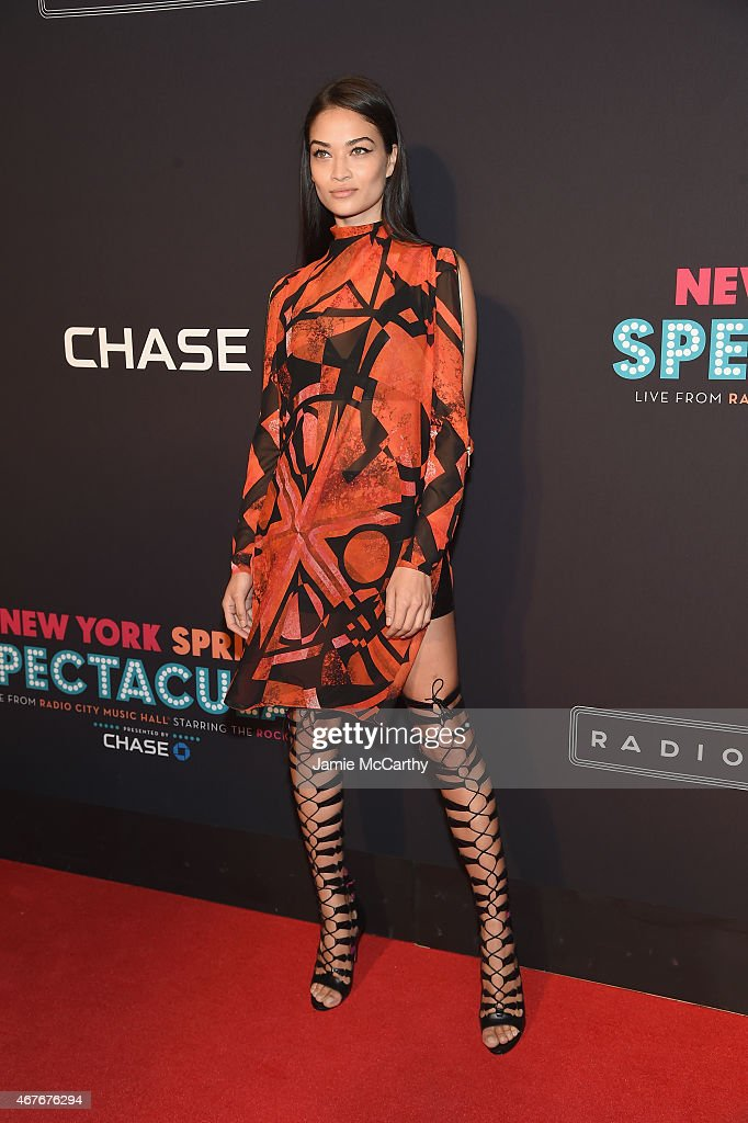 Shanina Shaik attends the 2015 New York Spring Spectacular at Radio City Music Hall on March 26 2015 in New York City