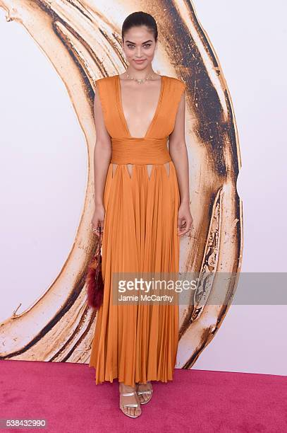 Shanina Shaik attends the 2016 CFDA Fashion Awards at the Hammerstein Ballroom on June 6 2016 in New York City