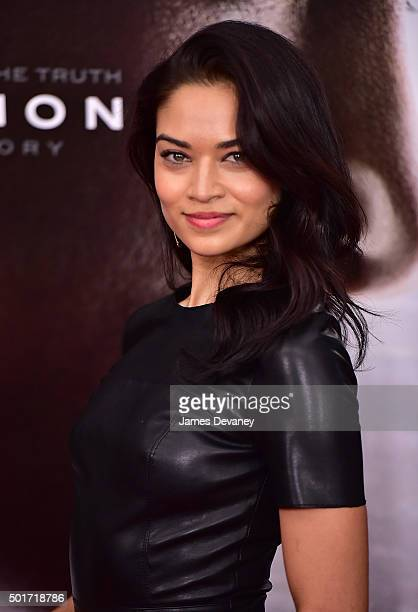 Shanina Shaik attends the 'Concussion' premiere at AMC Loews Lincoln Square on December 16 2015 in New York City