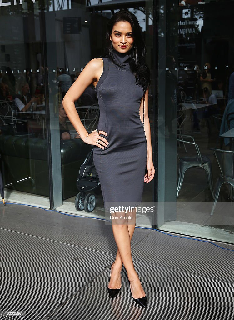 <a gi-track='captionPersonalityLinkClicked' href=/galleries/search?phrase=Shanina+Shaik&family=editorial&specificpeople=5556870 ng-click='$event.stopPropagation()'>Shanina Shaik</a> attends the Maticevski show during Mercedes-Benz Fashion Week Australia 2014 at Carriageworks on April 8, 2014 in Sydney, Australia.
