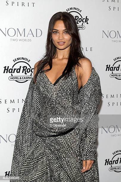 Shanina Shaik attends the'Seminole Spirit' Art Exhibition Party at Stephen Weiss Studio on February 17 2015 in New York City