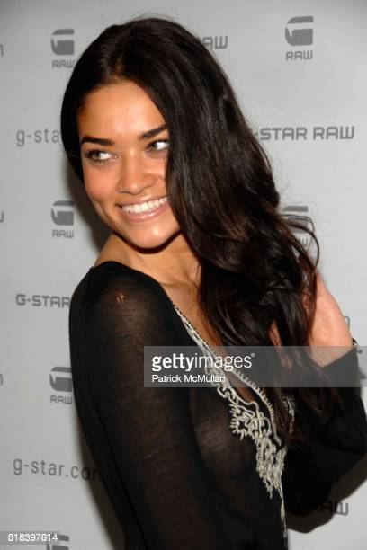 Shanina Shain attends GSTAR RAW Presents NY RAW Fall/Winter 2010 Collection Arrivals at Hammerstein Ballroom on February 16 2010 in New York City