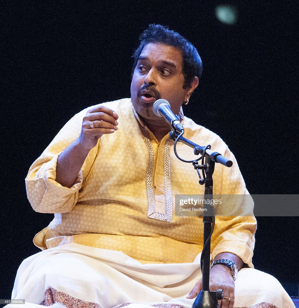 Shankar Mahadevan of Remember Shakti performs on stage during day 7 of London Jazz Festival at the Royal Festival Hall on November 21, 2013 in London, United Kingdom.