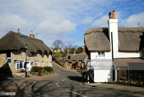 Shanklin vecchio villaggio sull'isola di Wight