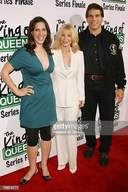 Shanna Ferrigno Carla Ferrigno and Lou Ferrigno family attend 'The King of Queens' final season wrap party at Boulevard 3 on March 17 2007 in...