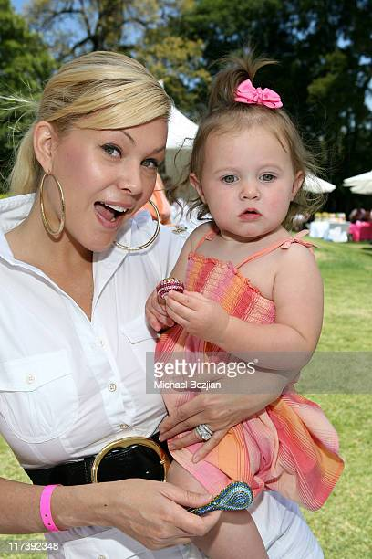 Shanna Moakler and Alabama Barker at Aristabrat during The Silver Spoon Hosts 4th Annual Dog and Baby Buffet Day Two at Wattles Mansion in Los...
