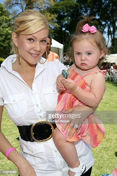 Shanna Moakler and Alabama Barker at Aristabrat Photo by Michael Bezjian/WireImage for Silver Spoon