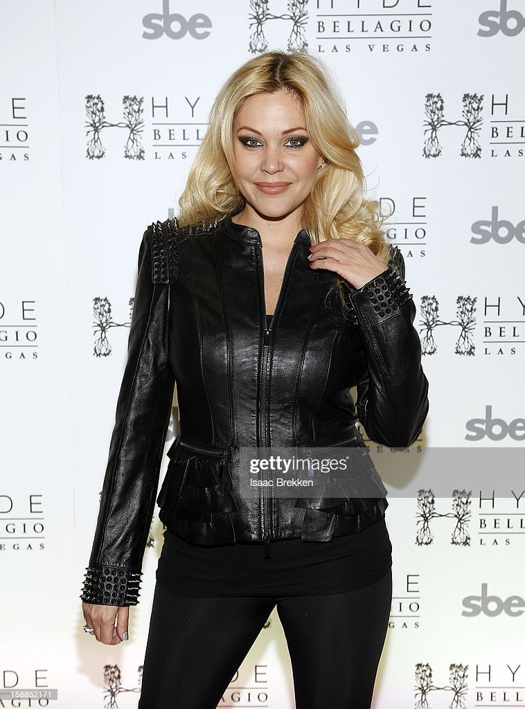 Shanna Moakler arrives at Hyde Bellagio at the Bellagio on New Year's Eve December 31, 2012 in Las Vegas, Nevada.