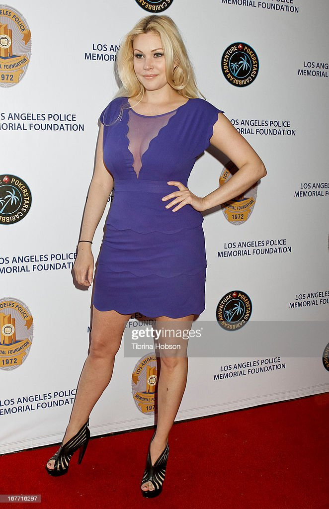 Shanna Moakler attends the Los Angeles Police Memorial Foundation's celebrity poker tournament at Saban Theatre on April 27, 2013 in Beverly Hills, California.