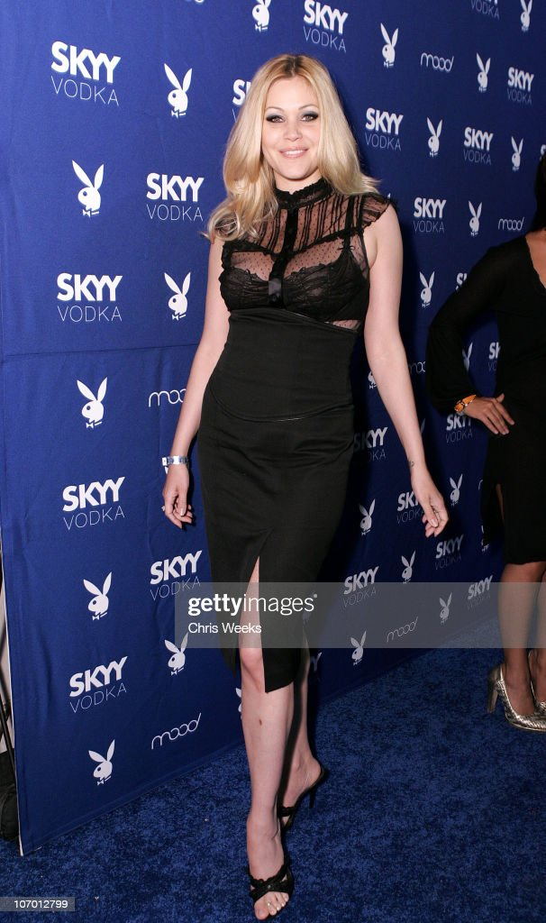 <a gi-track='captionPersonalityLinkClicked' href=/galleries/search?phrase=Shanna+Moakler&family=editorial&specificpeople=243047 ng-click='$event.stopPropagation()'>Shanna Moakler</a> during Skyy Vodka Celebrates Playboy's August Issue With Playmate of the Year Kara Monaco - Red Carpet at Mood in Hollywood, California, United States.