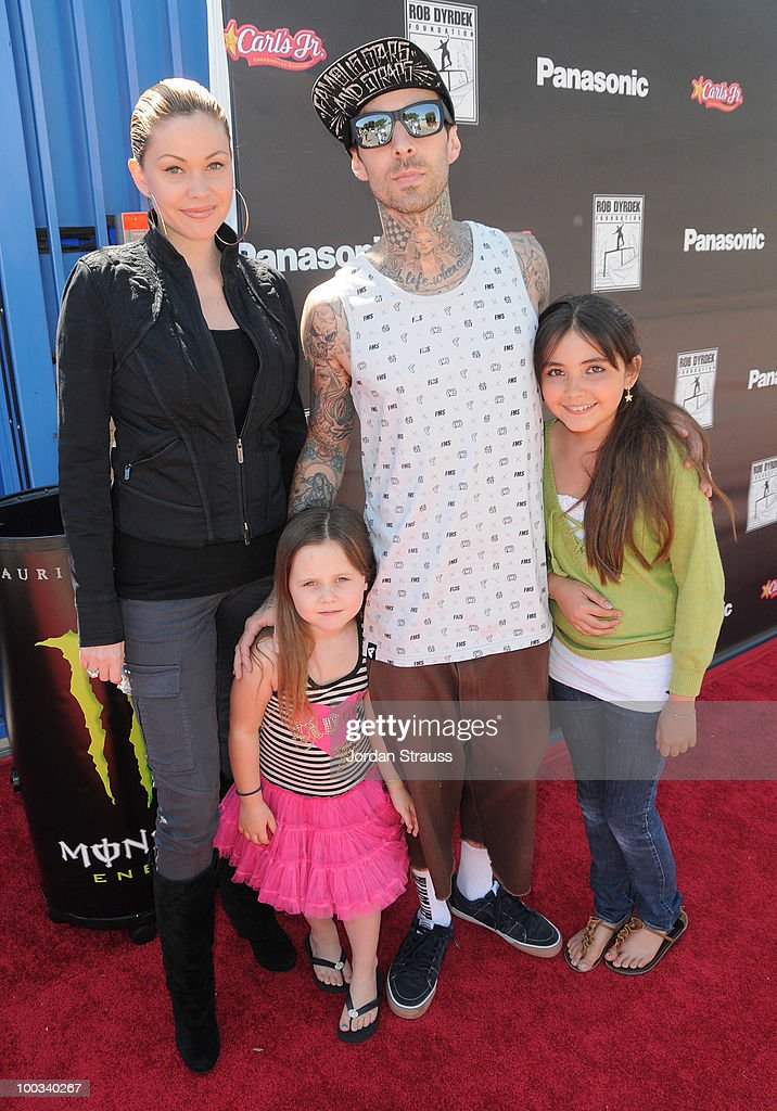 <a gi-track='captionPersonalityLinkClicked' href=/galleries/search?phrase=Shanna+Moakler&family=editorial&specificpeople=243047 ng-click='$event.stopPropagation()'>Shanna Moakler</a>, <a gi-track='captionPersonalityLinkClicked' href=/galleries/search?phrase=Travis+Barker&family=editorial&specificpeople=213206 ng-click='$event.stopPropagation()'>Travis Barker</a> and family attend Rob Dyrdek Foundation SK8 4 Life Benefit Presented by Panasonic & Carl's Jr at Fantasy Factory on May 22, 2010 in Los Angeles, California.