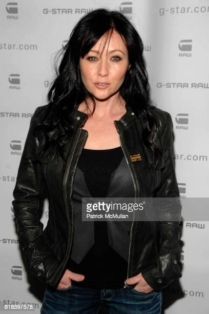 Shannen Doherty attends GSTAR RAW Presents NY RAW Fall/Winter 2010 Collection Arrivals at Hammerstein Ballroom on February 16 2010 in New York City