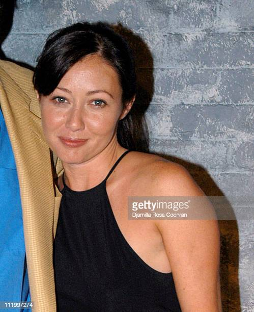 Shannen Doherty during Shannen Doherty Stars in 'In The Wings' at Revelation Theater in New York City New York United States