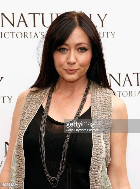 Shannen Doherty visits Victoria's Secret on March 21 2009 in Los Angeles California