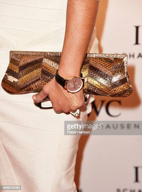 Shannon Allen attends IWC Schaffhausen celebrates 'Timeless Portofino' Gala Event during Art Basel Miami Beach to mark the Launch of the new...