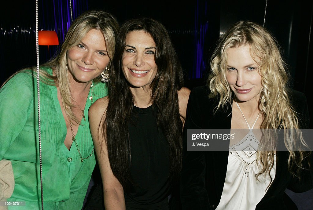 Shannon Bradley, Hilary Shepard and Daryl Hannah during Lindsay Lohan's 2005 MTV Movie Award After Party at The Standard Hotel in Los Angeles, California, United States.