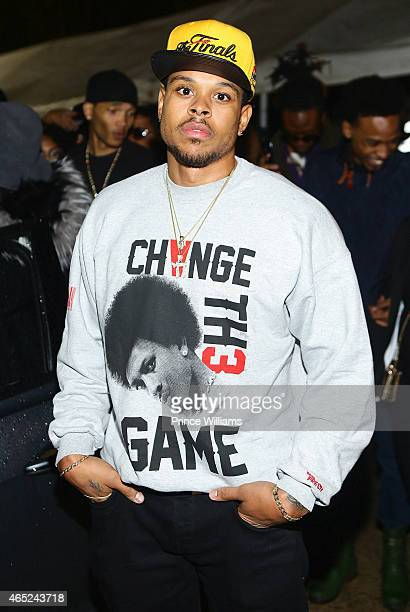 Shannon Brown attends Compound on February 21 2015 in Atlanta Georgia