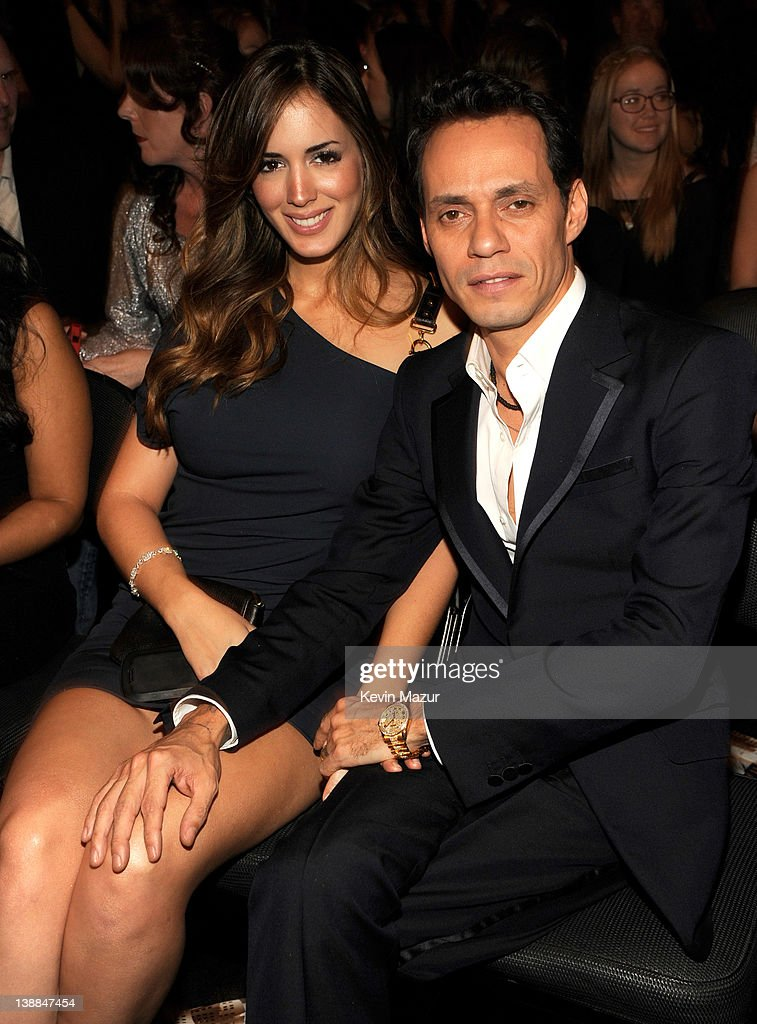 Shannon de Lima and Marc Anthony attend The 54th Annual GRAMMY Awards at Staples Center on February 12 2012 in Los Angeles California
