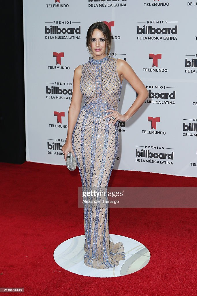 Shannon de Lima attends the Billboard Latin Music Awards at Bank United Center on April 28, 2016 in Miami, Florida.