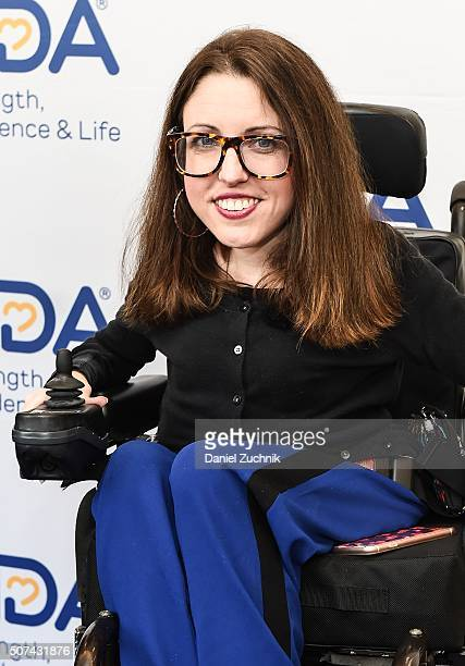 Shannon DeVido attends the Muscular Dystrophy Association Funding Announcement at Carnegie Hall on January 29 2016 in New York City