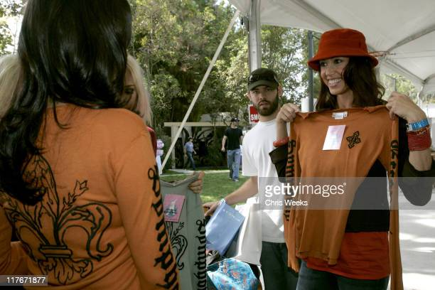 Shannon Elizabeth at Eccentric Symphony during Silver Spoon PreEmmy Hollywood Buffet Day 1 in Los Angeles California United States Photo by Chris...
