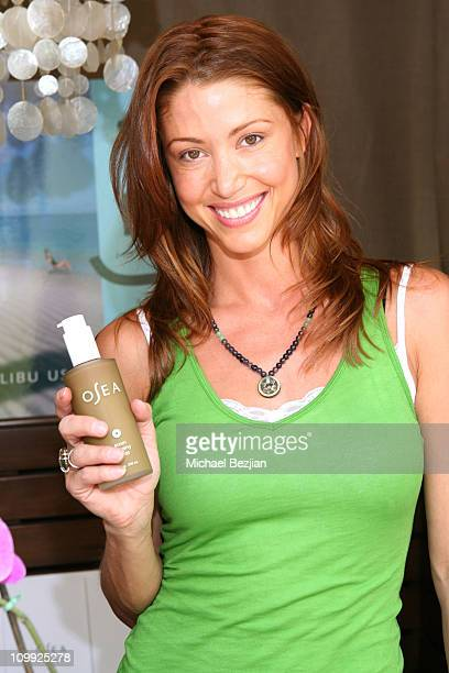 Shannon Elizabeth at Osea during LIVEstyle Entertainment Presents PreMTV Movie Awards Hollywood Life Lounge in Los Angeles California United States