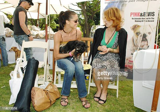 Shannon Elizabeth at Paw Print Magazine during The Silver Spoon Hosts 4th Annual Dog and Baby Buffet Day One at Wattles Mansion in Hollywood...