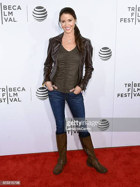 Shannon Elizabeth attends Tribeca Talks After the Movie 'Special Correspondents' 2016 Tribeca Film Festival at John Zuccotti Theater at BMCC Tribeca...