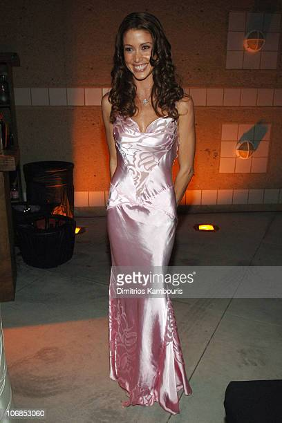 Shannon Elizabeth during 13th Annual Elton John AIDS Foundation Oscar Party Cohosted by Chopard After Party at Pacific Design Center in West...